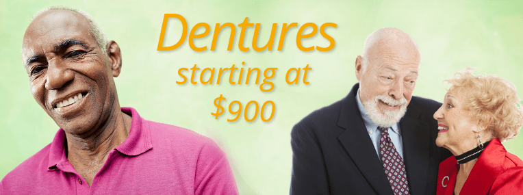 $990 Dentures Special at Maryland Dental Center